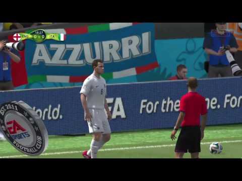 Fifa Live Stream PS4 England 2 vs Italy 1 Spectacular