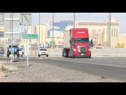 Las Vegas city leaders and truck drivers reflect on infrastructure mayhem