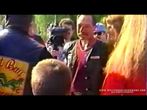 HELLS ANGELS  SONNY BARGER   & Coming Home Party 1994  Part 5