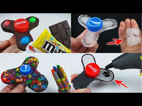 Thumbnail: 6 Different FIDGET SPINNER You Can Do at Home Compilation