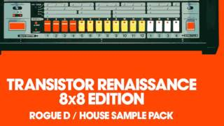 Transistor Renaissance 8x8 Edition - House Samples Loops - By Loopmasters
