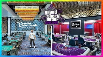 GTA 5 Online Casino DLC Update - INTERIOR DETAILS! Playing As A Lone Wolf, The Diamond NPCs & MORE!