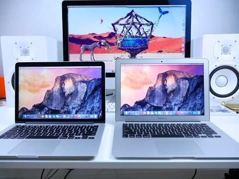 Wondering whether to buy a Macbook or Macbook Pro?