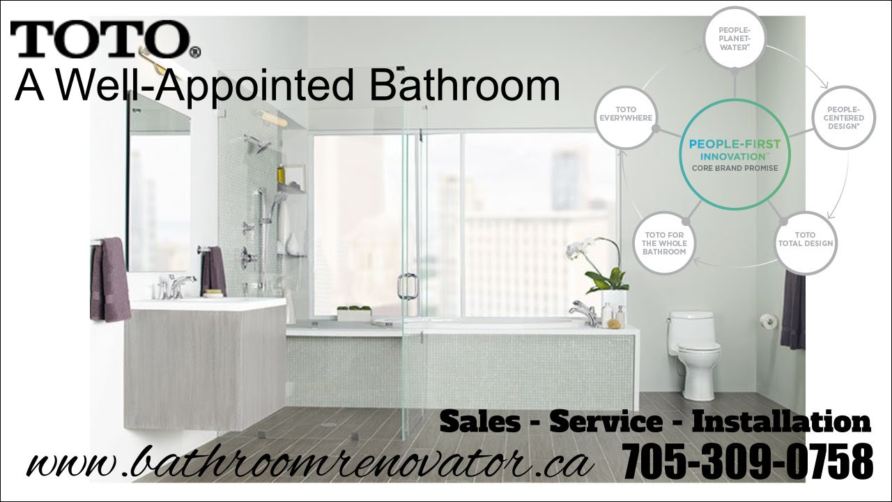 Toto Toilet sales, service installation the Bathroom Renovator ...