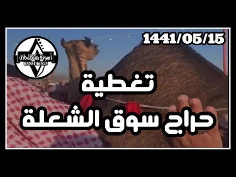 تغطية حراج سوق الشعلة 1441 05 15 هـ Youtube