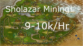 WoW 6.2.2: 9,000-10,000G Per Hour! Sholazar Basin Gem farming- Mining WoD Gold Farming Guide