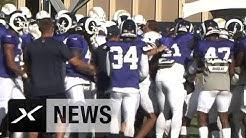 Wüste Massen-Schlägerei zwischen Chargers und Rams | NFL | #FightforLA