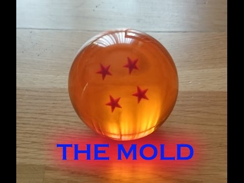 How to make your DRAGON BALLS REPLICS, Learn step by step (THE MOLD)