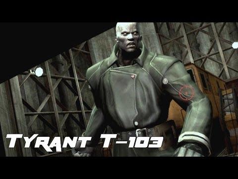 Resident Evil: The Darkside Chronicles - Tyrant T-103 Battle