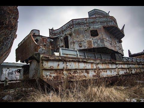 Речной порт или кладбище кораблей. Рязань. Вся правда.