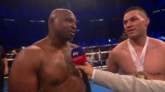 POST FIGHT: Dillian Whyte defeats Joseph Parker in unanimous decision