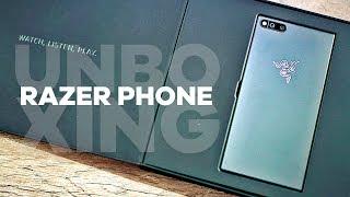 QUE MAQUINA, O SMARTPHONE GAMER! RAZER PHONE  - Unboxing