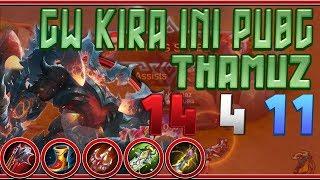 Top Global Thamuz vs 3 on Lord / Thamuz Best Build & Emblems Mobile Legends Bang Bang