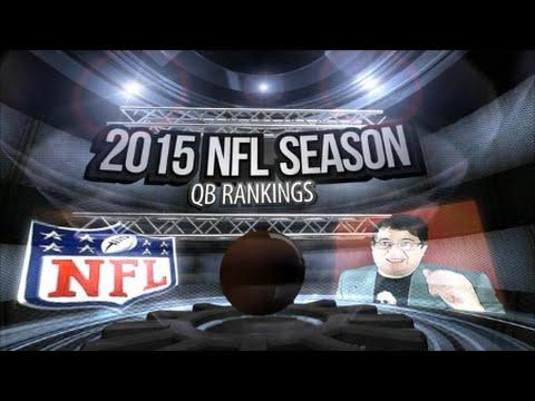 2015 NFL SEASON QB RANKINGS