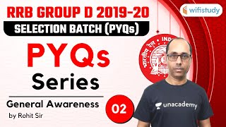 1:30 PM - RRB Group D 2019-20 | GK by Rohit Kumar | PYQs Series (Part-2)