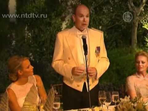 Князь Монако женился на Шарлин Уиттсток