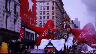 Confetti on Macy's Thanksgiving Parade