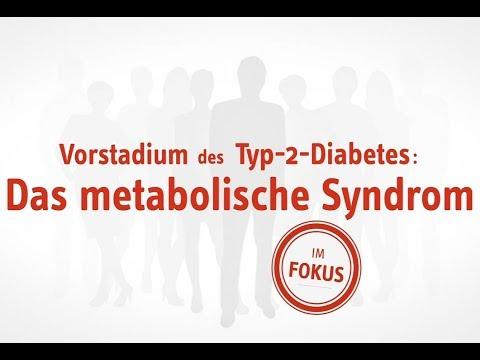 Vorstadien des Typ-2-Diabetes: Metabolisches Syndrom und Insulinresistenz