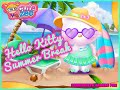 Hello Kitty Summer Break- Fun Online Dress Up Games for Girls Kids