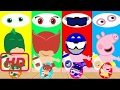 Wrong Eyes, Learn Color For Children Pj Masks Compilation Finger Family Song Nursery Rhymees  #MAA