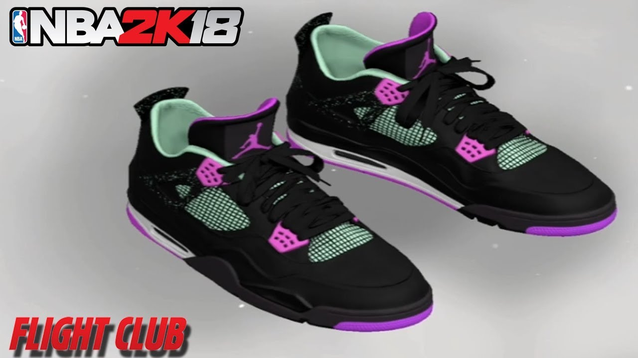 NBA 2K18 HOW TO MAKE AIR JORDAN 4