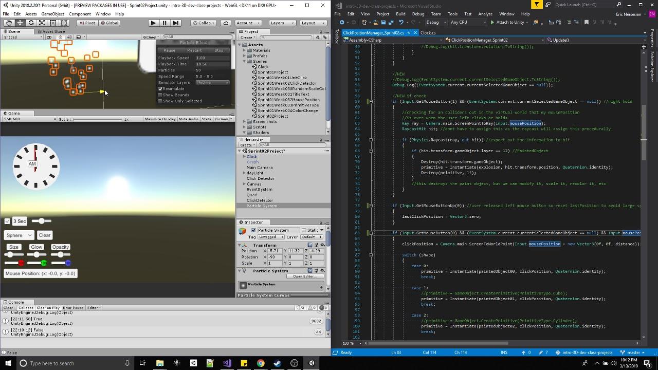 HS VR 3D Dev Sprint 2