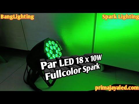 Par LED 18 X 10w Fullcolor Spark