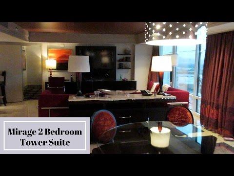 Mirage Las Vegas Two Bedroom Tower Suite YouTube Custom Mirage Two Bedroom Tower Suite