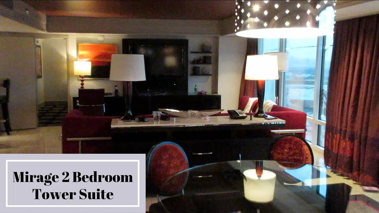 Mirage Las Vegas   Two Bedroom Tower Suite   YouTube