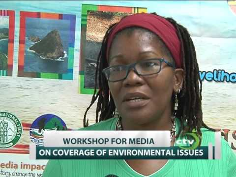 St. Lucia media engaged on environmental issues in the south