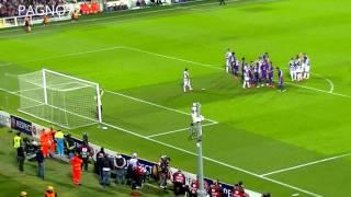 Fiorentina Vs JUVENTUS  Goal Pirlo 0-1