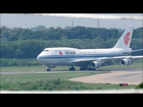 [HD] VIP Flight-Air China Jumbo Jet & Other Planes Spotted at Dhaka Airport