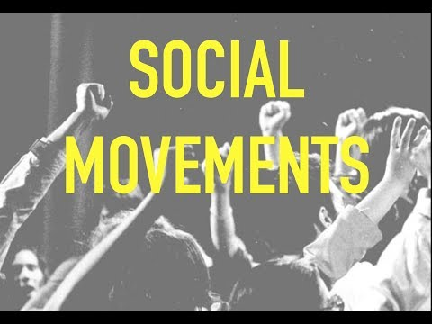 Sociology for UPSC : Social Movements - Lecture 44