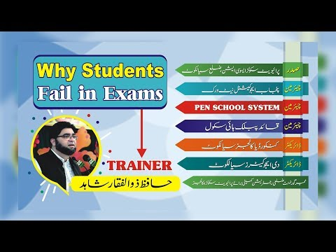 Why Students Fail in Exams?
