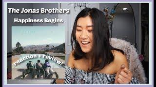 Jonas Brothers - Happiness Begins Album   REACTION