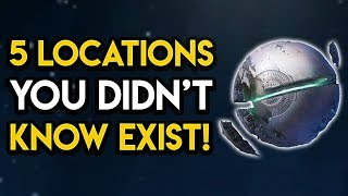 Destiny 2 - 5 Secret Locations You Didn't Know Exist