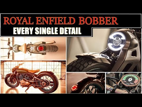 Royal enfield bobber concept KX : every single detail | revealed completely