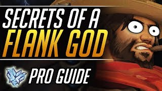 How to DESTROY as McCree: PRO Tips and Tricks to Master Flanks | Overwatch Grandmaster Guide