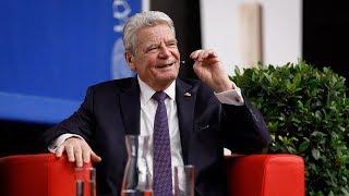 Podiumsdiskussion mit Joachim Gauck: