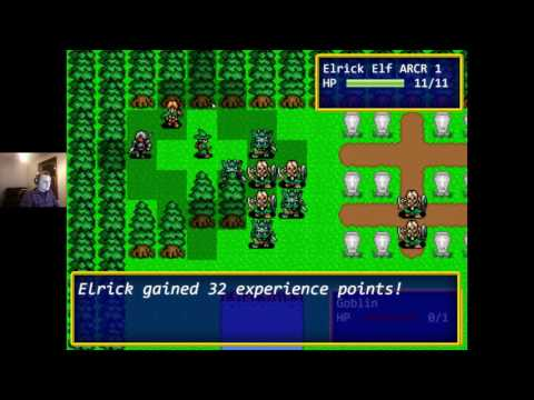 Shining Force Fan Game - Update 7 - Saving to Database, Ranged Attacks, Sound Effects