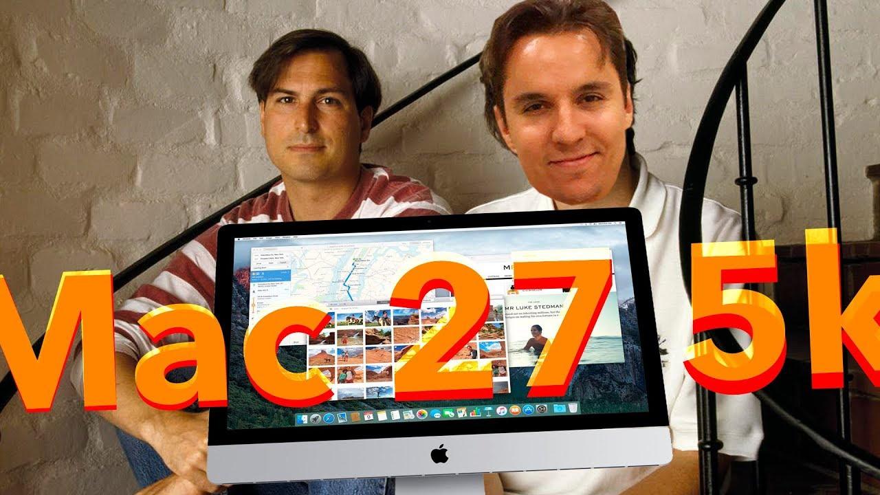 Apple iMac 27 Обзор моноблока - YouTube