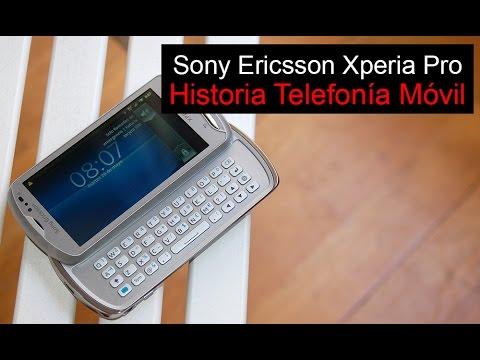 Sony Ericsson Xperia Pro, anunciado en 2011 | Historia Telefonía Móvil