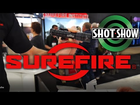 SUREFIRE NEW NEW!!! XH35, XC1, M600, M300, EDCL1/2, Tactician and more! - SHOT SHOW 2018