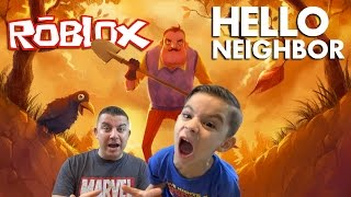 HELLO NEIGHBOR | ROBLOX - HELP US!