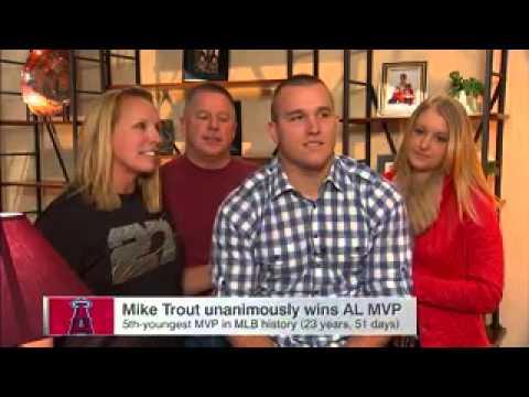 Trout Wins AL MVP