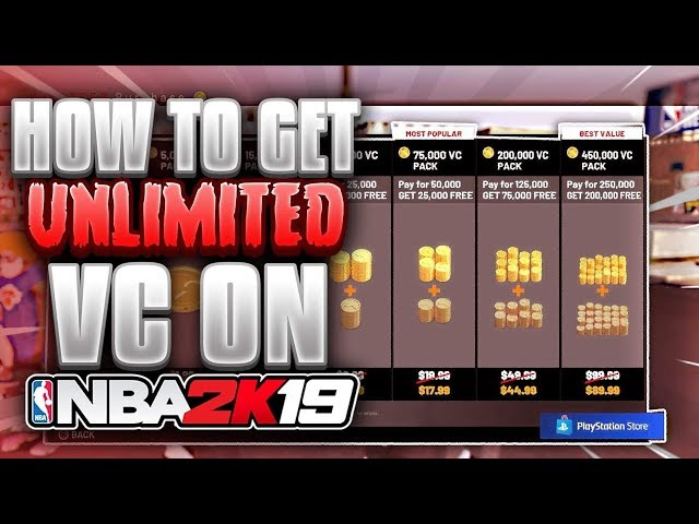 NBA 2K19 BEST UNLIMITED VC GLITCH | 5K FOOTLOCKER ENDORSMENT AFTER PATCH 1.05!!!!!| 60K VC A HOUR!