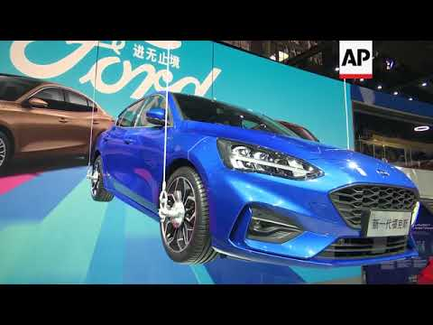 Beijing auto show overshadowed by US-China trade tensions