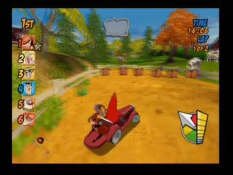 Cartoon Network Racing All Drivers And Racetracks