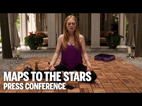 MAPS TO THE STARS Press Conference | Festival 2014