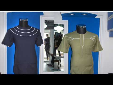 Men's African Fashion_Round Neck Designer Longsleeve Shirts For NGN25,000 only